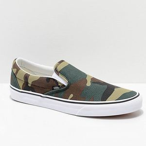 Vans Classic Slip-On Woodland Camo